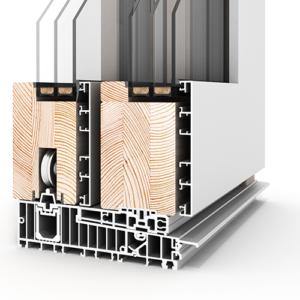 Schiebetüren und Glasfassaden