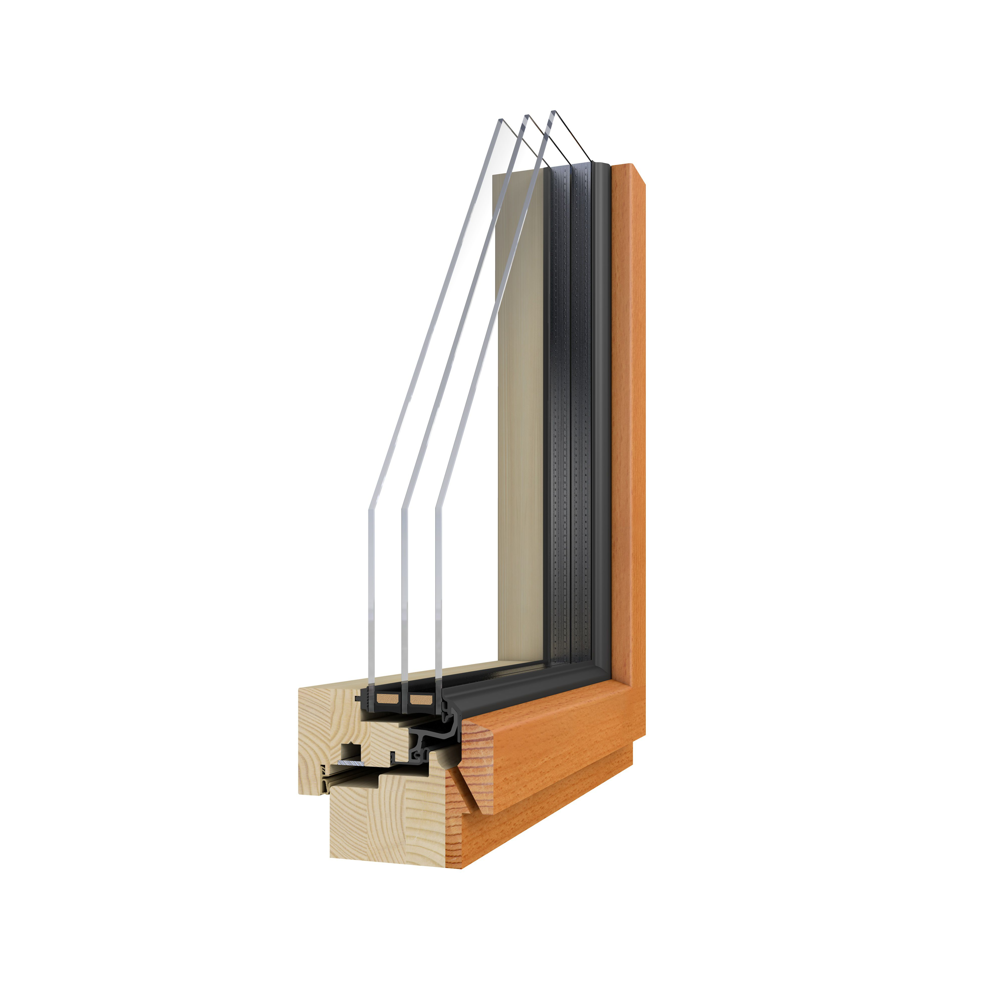 hausverstand | becker 360 holzintegralfenster 2h